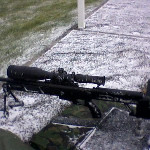 rpa rangemaster in the snow